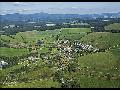 Krásná příroda v CHKO Šumava v malebné obci Zbytiny, turistika
