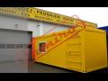 Kontejnery obytné, skladové, sanitární, sestavy buněk kontejnerů pro stavby i sklady
