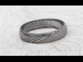 Doménou uměleckého kovářství je i výroba přívěsků, prstenů a náušnic z damašku