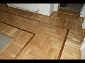 Podlahářské práce, pokládka parketových vlisů, intarzovaných podlah