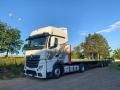 Mezinárodní kamionová doprava, spedice, express přeprava vozem DAF Solo, tahači Mercedes Benz, Renault