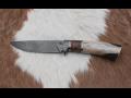 Výroba kvalitních nožů z damašku na zakázku i pro sběratelské účely