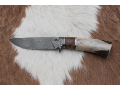 Custom production of hunting knives from damascus, Czech Republic