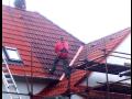 Opravy střech, výměna střešních krytin, práce ve výškách Zlín