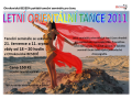 Letní orientální tance, semináře pro ženy na Otrokovické Besedě