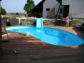 Čištění, vyvložkování bazénů, masážní vířivky, servis bazény