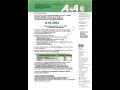 A + A 2011 - veletrh bezpečnosti a ochrany zdraví při práci