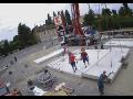 Betonové panely pro bezkontaktní mycí centra a samoobslužné mycí boxy