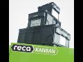 Vícezásobníkový systém Reca-Kanban, box s velkou kapacitou vhodný pro ...