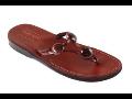 Ručně šité kožené sandále letní obuv, z hovězí kůže Česká Lípa