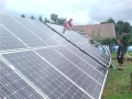 Kovov� konstrukce pro fotovoltaick� elektr�rny Krom���