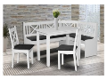 Praktické kuchyňské, jídelní stoly, stylové rohové lavice, židle za super cenu Znojmo