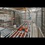 Komplexní dodávka montážních linek s roboty a automatického skladu ...