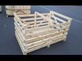 Zakázková výroba dřevěných beden na zelí nebo tykve v různých ...