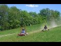 Fun park Hlubočky, motorové čtyřkolky pro děti, terénní minikáry