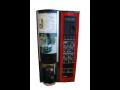 Prodejní nápojové automaty na kávu, balené potraviny a nápoje