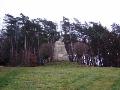 Obec Konecchlumí u Jičína, mohyla rodáka Viléma staršího Konecchlumského
