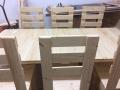 Zakázková výroba nábytku z dřevěných palet do domu i na zahradu