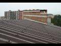 Hliníková střešní krytina pro střechy průmyslových objektů