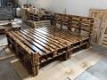 Paletový nábytek – výroba sedacích souprav a postelí z dřevěných palet na míru