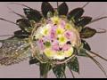 Vazba svatebn�ch kytic, kv�tinov� v�zdoba aut Prost�jov