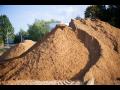 Přeprava sypkých materiálů Klatovy, písek, štěrk, kamenivo