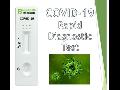 Rychlý test na  COVID-19  -  pro použití zdravotnickými odborníky i na domácí testování!