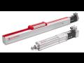 Pístnicové, bezpístnicové elektromechanické lineární válce pro průmyslové aplikace
