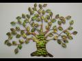 Ozdobte si zeď domu kovovou nástěnnou dekorací v podobě stromu, slunce ...