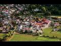 Obec Velké Březno, malebná oblast CHKO České středohoří se státním zámkem i pivovarem
