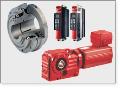 Lineární ložiska hydraulické pneumatické prvky průmyslové hadice.