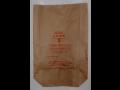 Výprodej papírových pytlů - cena 1,80 Kč/ks