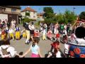 Obec Lhota u Kladna Středočeský kraj, slavení máje