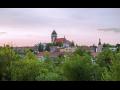 Město Dačice v Jihočeském kraji, pomník kostky cukru, zámek Dačice, ...