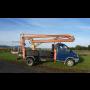 Zemní práce minibagrem 0,9 t a 3,5 t, pronájem vysokozdvižné plošiny s dosahem do 14 m