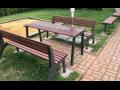 Městský mobiliář Znojmo, lavičky
