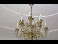 Historická svítidla, lustry, lampy, svícny Brno, prodej a restaurátorské práce, restaurování šperků