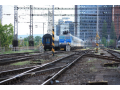Umělé železniční stavby, výstavba a oprava železnice, přejezdů