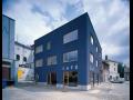Architektonická projekce veřejných budov, cukráren, kanceláří
