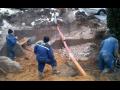 Nové vodovodní a kanalizační přípojky Kouřim, realizace domovních ...
