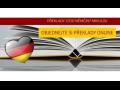 Překladatelské, tlumočnické služby, němčina, lektorka Mikulov, výuka němčiny pro firmy, dospělé i děti