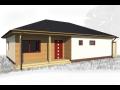 Moderní domy, bungalov, typové domy různých dispozic