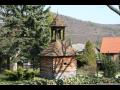 Obec Ostrovec-Lhotka - historická roubená zvonice