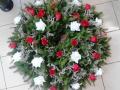 Smuteční, kondolenční vazby a kytice - výroba v prvotřídní kvalitě, prodej