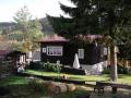 Užijte si romantický pobyt v horské chatě Krásná na samotě u lesa s vířivkou a s infrasaunou