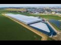 Hydroponický reprodukční skleník k pěstování ovoce, zeleniny a květin