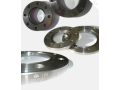 Production of flanges, pipe components