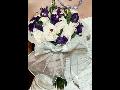 Svatební kytice na míru – aranžování, vázání kytic pro nevěstu z živých i umělých květů