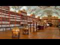 Historický klášter s řeholním řádem, knihovnou a obrazárnou.