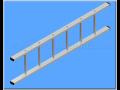 Výroba prodej hliníkové žebříky výsuvné dvojité pro hasiče lešení